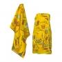 Набор подарочный для бани Noname В-04 Комплект женский БАННАЯ ТЕМА, 2 предмета