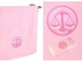 Полотенце Santalino Весы, розовый