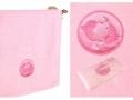 Полотенце Santalino Рыбы, розовый