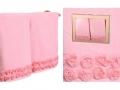 Набор подарочный для бани Santalino Комплект Розарий, розовый.