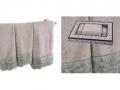 Набор подарочный для бани Santalino Комплект Ажур, фисташковый