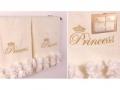Набор подарочный для бани Santalino Комплект Принцесса, шампань