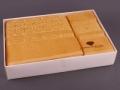 Набор подарочный для бани Fashion &  dizayn Комплект махровых полотенец из 2 шт, желтый