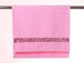 Полотенце Santalino Розовая лента, розовое