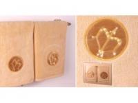Набор подарочный для бани Santalino Комплект Стрелец, золото