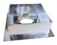 Дымоход Проходник стеновой/потолочный 100 (нержавейка)