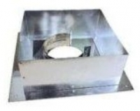 Дымоход Проходник стеновой/потолочный 130 (нержавейка)