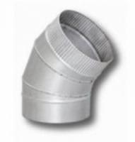 Дымоход Колено 135гр 115мм (цинк)