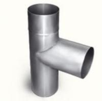 Дымоход Тройник труба 115мм (цинк)