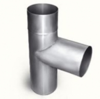 Дымоход Тройник труба 130мм (цинк)