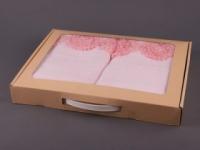 Набор подарочный для бани Santalino Комплект Пион, розовый