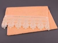 Полотенце Santalino Бантик, персиковое