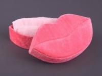 Набор подарочный для бани Noname Полотенце персик, коробка Губы