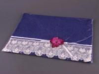 Полотенце Santalino Орхидея, синее