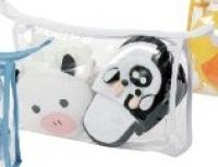 Мочалка+Тапочки Набор Детский Arya В Сумке Cow Puff