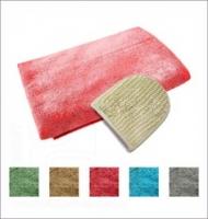 Комплект махровый для женщин, Банные штучки (03680), цвет: Красный