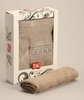 Мужской набор для сауны TAC,махровый,серый
