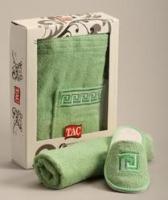 Мужской набор для сауны TAC,махровый,светло-зеленый