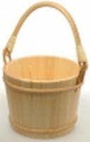 Ведро деревянное SaunaSet 12л для бани и сауны