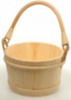 Ведро деревянное SaunaSet 8л для бани и сауны