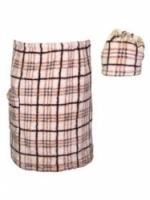 Набор подарочный для бани Noname В-24 Комплект мужской с вышивкой, 2 предмета