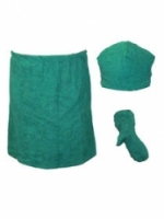 Набор подарочный для бани Noname В-11 Комплект мужской, 3 предмета