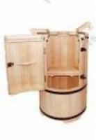 Купель Кедровая бочка «Круглая сибирская» покрыта воском