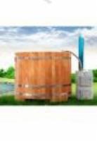 Купель Комплект наружного котла на дровах для купели