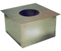 Дымоход Проходник стеновой/потолочный 230 (цинк)