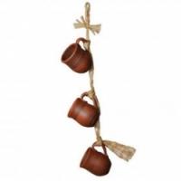 Вязанка Noname КРУЖКИ, 3 предмета, ручная работа
