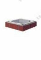 Дымоход Дополнительный верхний комплект дымохода Schiedel Uni FINAL 0,33мп диаметр 140мм, одноходовой (Имитация кирпичной кладки