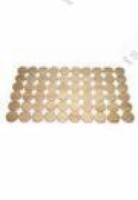 Коврик Эксклюзивный напольный коврик SAWO для сауны из канадского кедра (Без сучков) 860х510