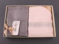 Набор подарочный для бани Santalino Комплект Греческие узоры, 130-024