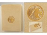 Полотенце Santalino Козерог, золото