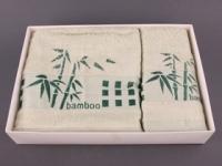 Набор подарочный для бани Fashion &amp  dizayn Комплект махровых полотенец,  салатовый