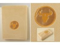 Полотенце Santalino Телец, золото