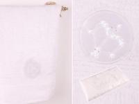 Полотенце Santalino Стрелец, белый
