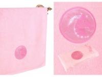 Полотенце Santalino Козерог, розовый