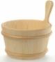 Шайка деревянная SaunaSet 4л для бани и сауны (банная, баня)