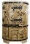 Купель Кедровая бочка «АВТОРСКАЯ Профессиональная овальная сибирская» покрыта воском
