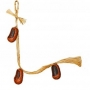 Вязанка Noname ЛАПТИ малые, 3 предмета, ручная работа