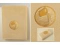 Полотенце Santalino Водолей, золото