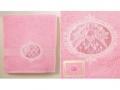 Полотенце Santalino Колибри, розовый