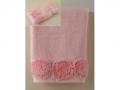 Полотенце Santalino Пион, розовый