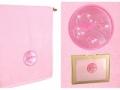 Полотенце Santalino Скорпион, розовое