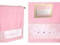 Полотенце Santalino Ариадна, розовое