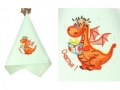 Полотенце Noname Дракон Счастья, салатовое