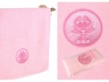Полотенце Santalino Рак, розовый