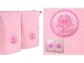 Набор подарочный для бани Santalino Комплект Рак, розовый