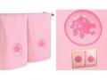 Набор подарочный для бани Santalino Комплект Лев, розовый